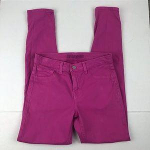 J Brand fuchsia skinny jean size 27